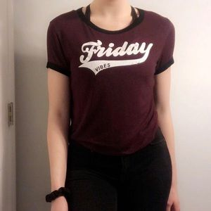 Friday vibes top